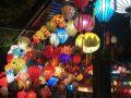 ホイアンの満月の夜のランタン祭り